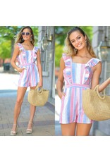 Rompers 48 Summer Way Stripe Romper
