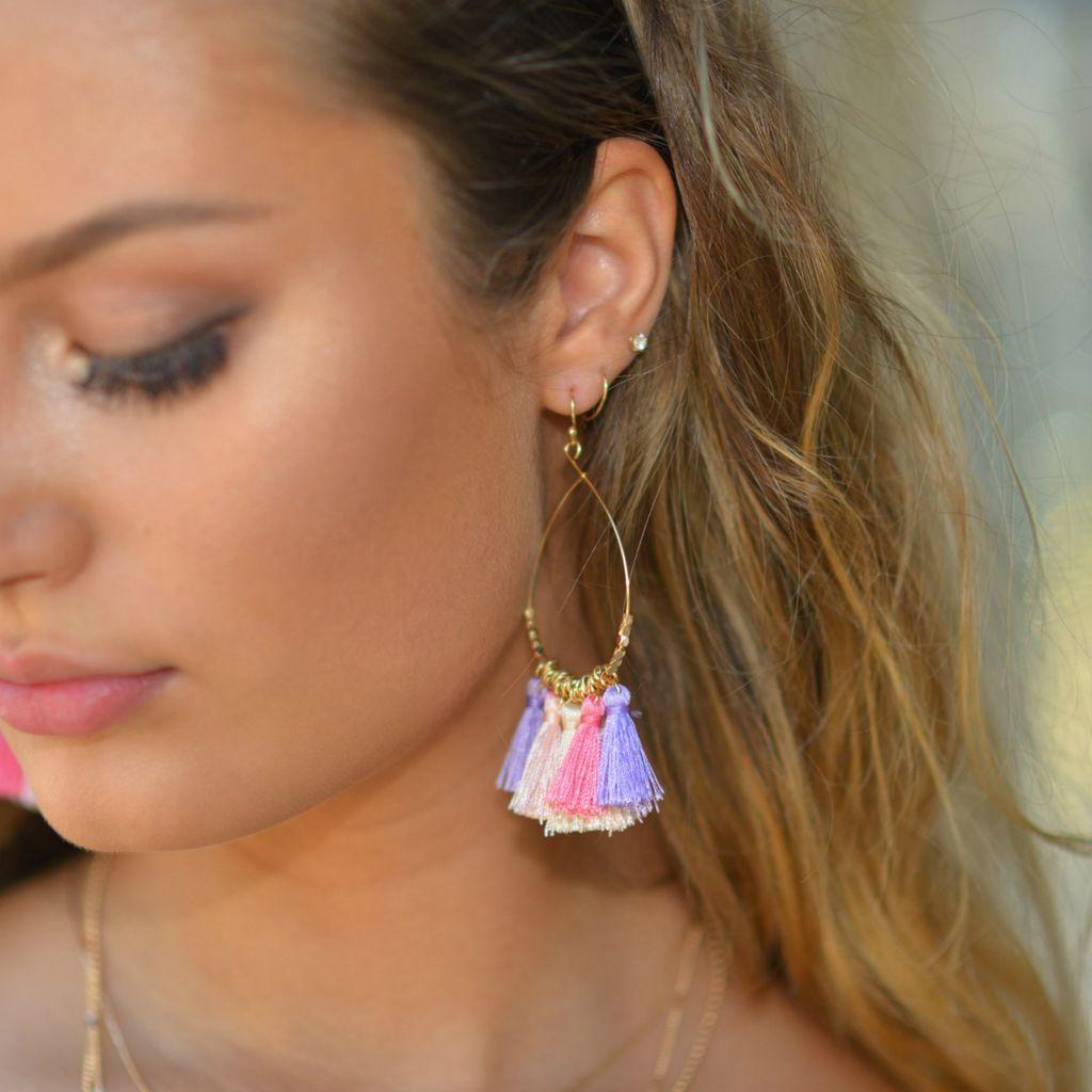 Jewelry 34 Multi Tassel Earrings