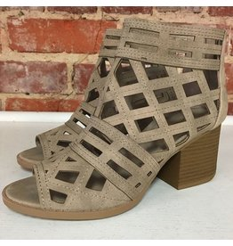 Shoes 54 Cutout For You Stone Sandal
