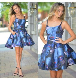 Formalwear Unforgettable In Florals Short Formal Dress