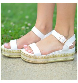 Shoes 54 Summer In The Sun White Espadrilles
