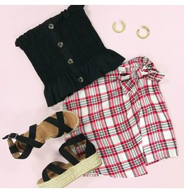 Skirts 62 Perfectly Plaid Wrapped Skirt