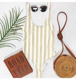 Swimsuits Summer Sand Stripe Swim