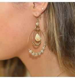 Jewelry 34 T-Drop Bead Earrings