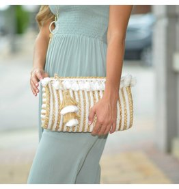 Accessories 10 Tassel and Straw Bag