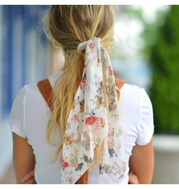 Accessories 10 Scarf Pony Ivory