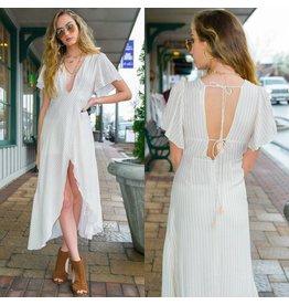 Dresses 22 Spring Stripes Wrap Dress