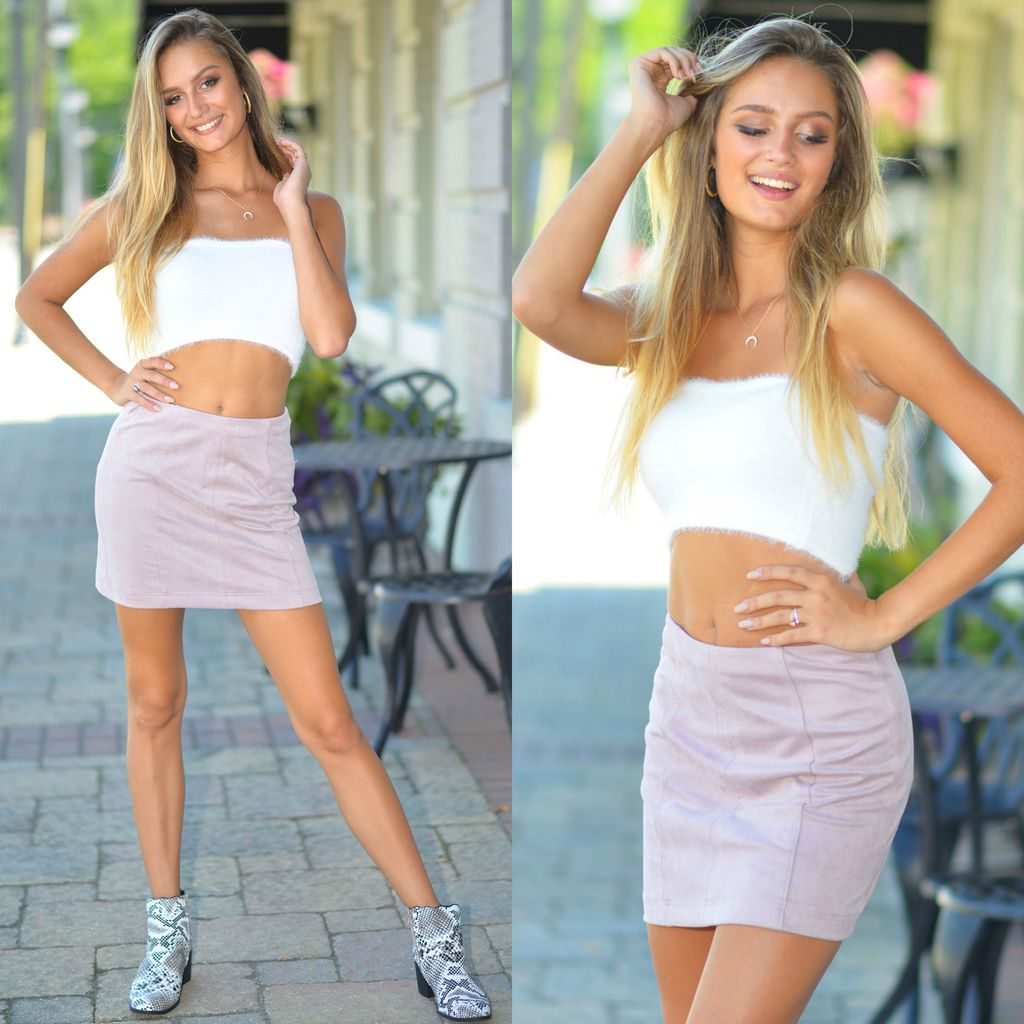 Skirts 62 Denim Daze Mauve Skirt
