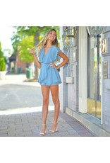 Rompers 48 Wrap Up Into Fall Dusty Blue Romper