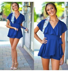 Rompers 48 Wrap Up Into Fall Navy Romper