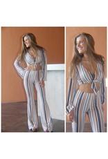 Pants 46 Seeking Stripes Flares