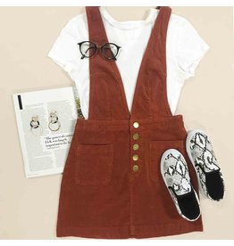 Dresses 22 Corduroy Days Overall Dress