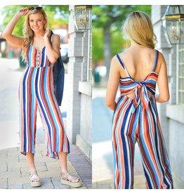 Jumpsuit Fall Stripes Jumpsuit