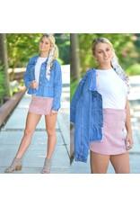 Skirts 62 Cute As A Button Corduroy Pink Skirt