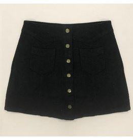 Skirts 62 Trend Setter Black Corduroy Skirt