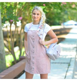 Dresses 22 Catch The Vibe Pink Overall Dress