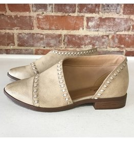 Shoes 54 Wanderlust Stitched Beige<br /> Bootie