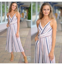 Jumpsuit Modern Love Fall Patterned Jumpsuit