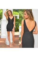 Formalwear Shimmer & Shine Black Party Dress