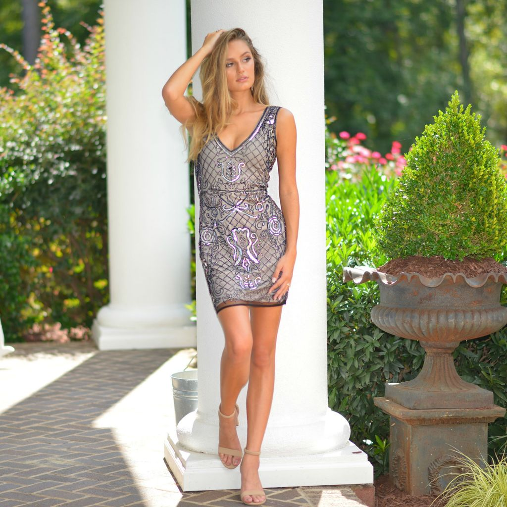 Formalwear Dazzle Occasion Short Formal Dress