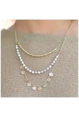 Jewelry 34 Disc & Stone Lyrd Necklace