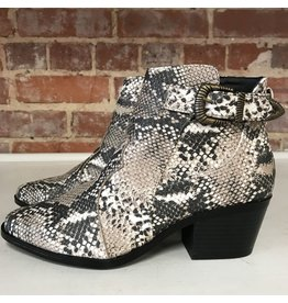 Shoes 54 Snake Print Beige/Brown Bootie