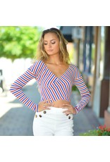 Tops 66 Season In Stripes Top