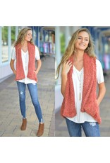 Tops 66 Fuzzy And Fun Fall Spice Vest