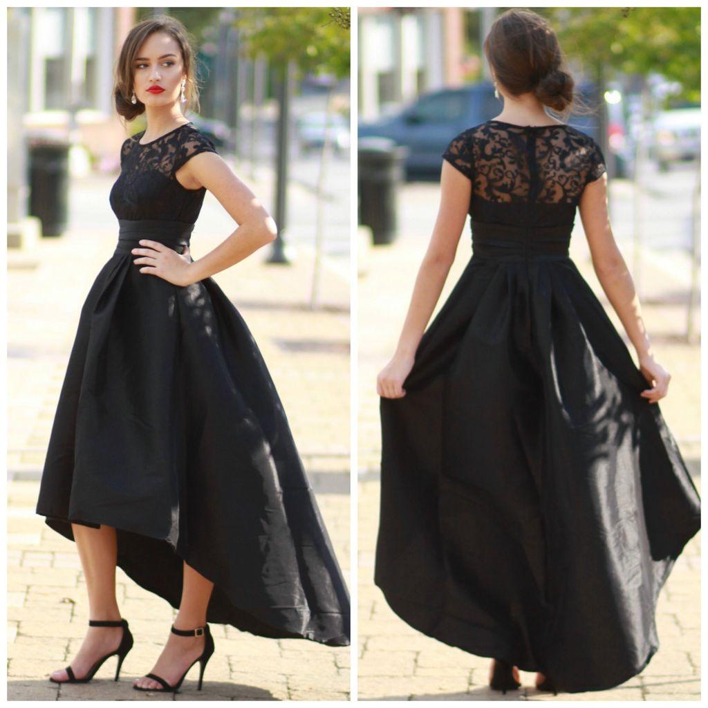 Formalwear Hi-Lo Formal Occasion Dress