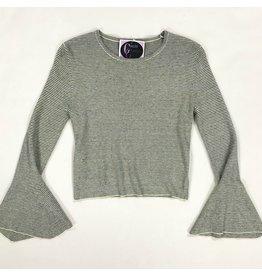 Tops 66 Jive Talker Stripe Cashmere Sweater