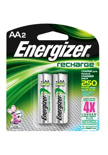 Energizer AA Rechargeable 2 pack