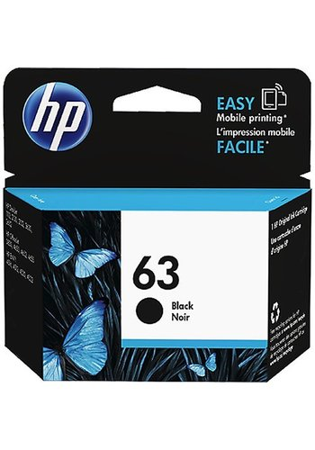 HP HP 63 Black Ink Cartridge