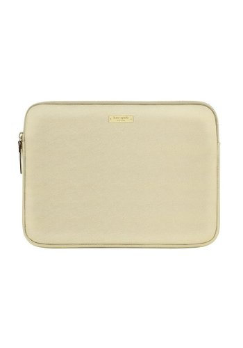 "Kate Spade Kate Spade NY Saffiano Laptop Sleeve for 13"" MacBook (Metallic Gold)"