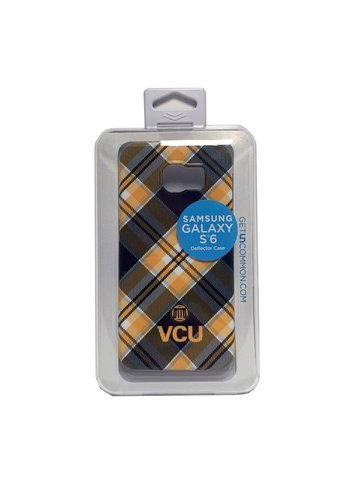 Uncommon Uncommon VCU Tartan Seal Galaxy S6 Deflector Case