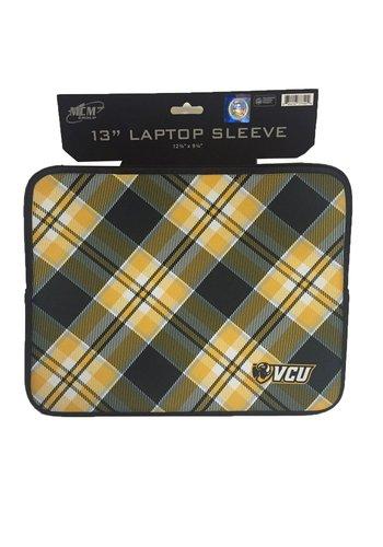 "Carolina Sewn VCU 13"" Laptop Sleeve (Tartan)"