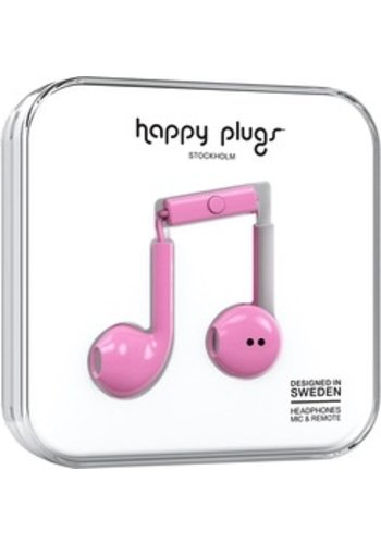 Happy Plugs Happy Plugs Plus Earbuds (Pink)