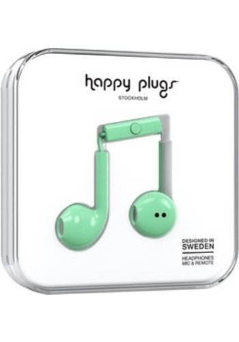 Happy Plugs Happy Plugs Plus Earbuds (Mint)