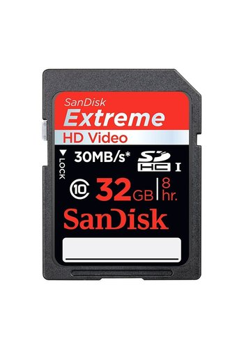 SanDisk SanDisk Extreme 32GB Secure Digital High Capacity (SDHC)