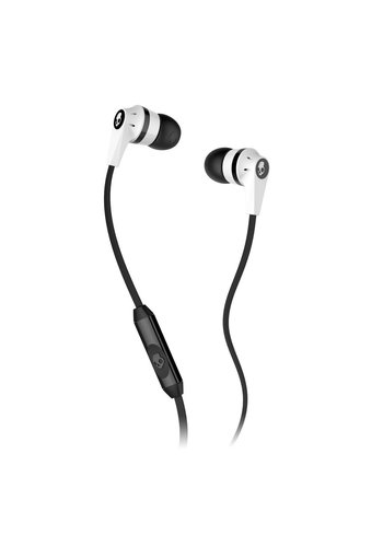 Skullcandy Skullcandy Ink'd 2.0 Earbud Headphones w/ Mic White/Black