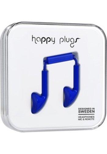 Happy Plugs Happy Plugs Earbuds (Cobalt)