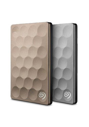 Seagate Seagate Backup Plus Ultra Slim 1TB External Hard Drive (Platinum)
