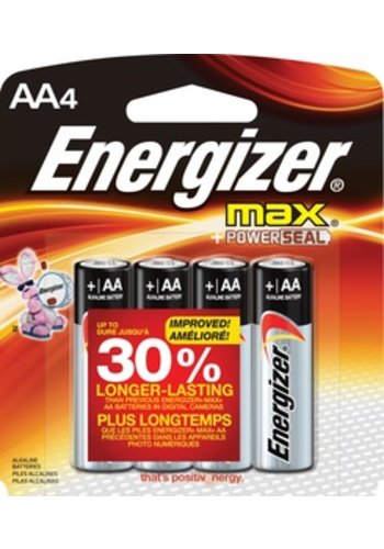 Energizer Energizer AA Alkaline Gerneral Purpose Batteries (pack of 4)