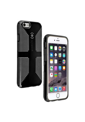 Speck Speck Products CandyShell Grip iPhone 6 Case (Black/Slate Gray)