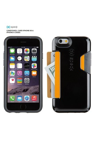 Speck Speck Products CandyShell Card iPhone 6 Case (Black)