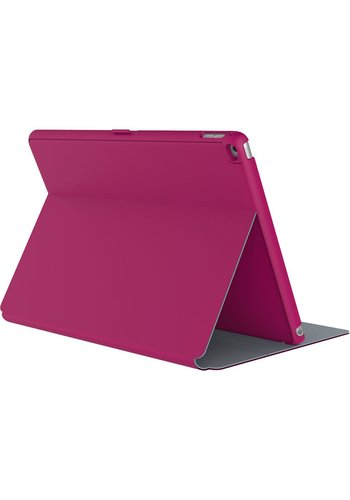 Speck Speck Products StyleFolio Carrying Case (Folio) for iPad Pro (Fuchsia Pink, Nickel Gray)