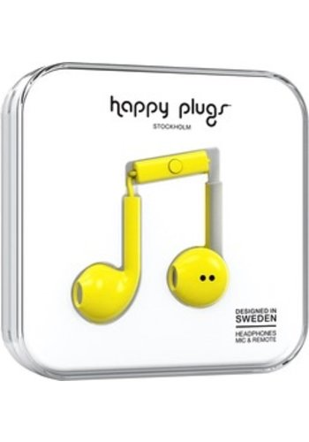Happy Plugs Happy Plugs Plus Earbuds (Yellow)