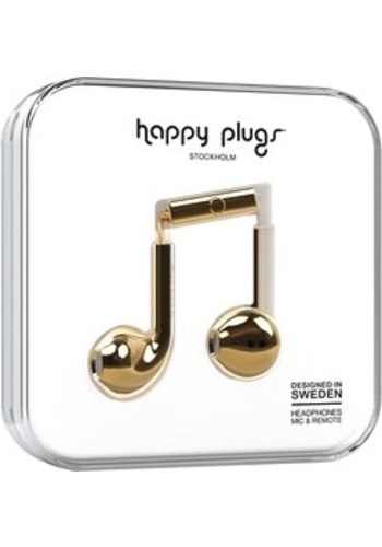 Happy Plugs Happy Plugs Plus Earbuds (Metallic Gold)