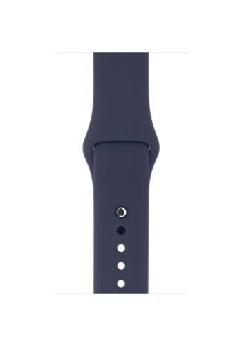 Apple Apple Watch Band: 38mm Midnight Blue Sport Band - S/M & M/L
