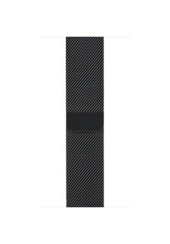 Apple Apple Watch Band: 42mm Space Black Milanese Loop
