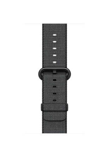 Apple Apple Watch Band: 38mm Black Woven Nylon